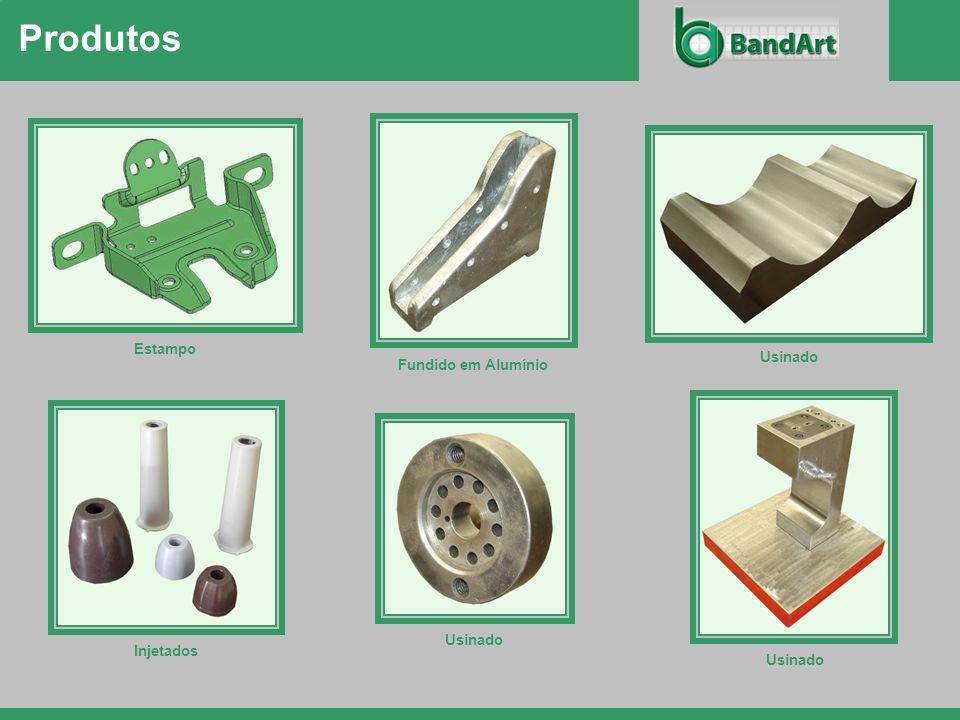 Produtos Estampo Fundido em Alumínio Usinado Injetados Usinado