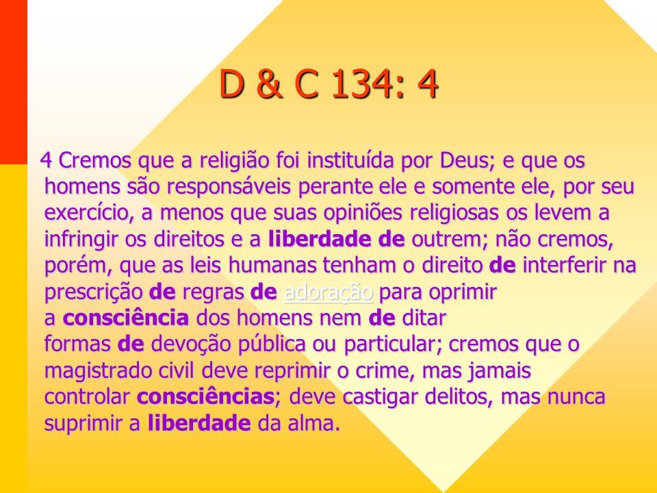 COMPARTILHAMENTO DE VISÃO A ABLIRC tem identificação total com a visão de A Igreja de Jesus Cristo dos Santos dos Últimos Dias sobre a defesa e promoção da Liberdade Religiosa