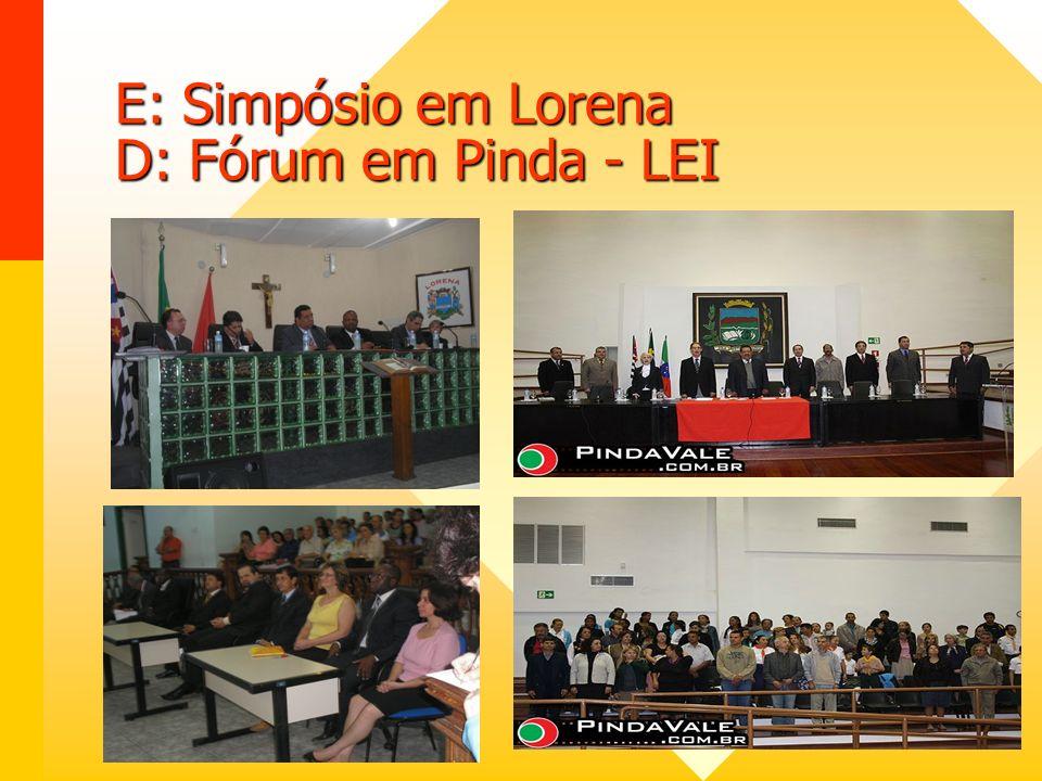 VIII Fórum – CM São Paulo
