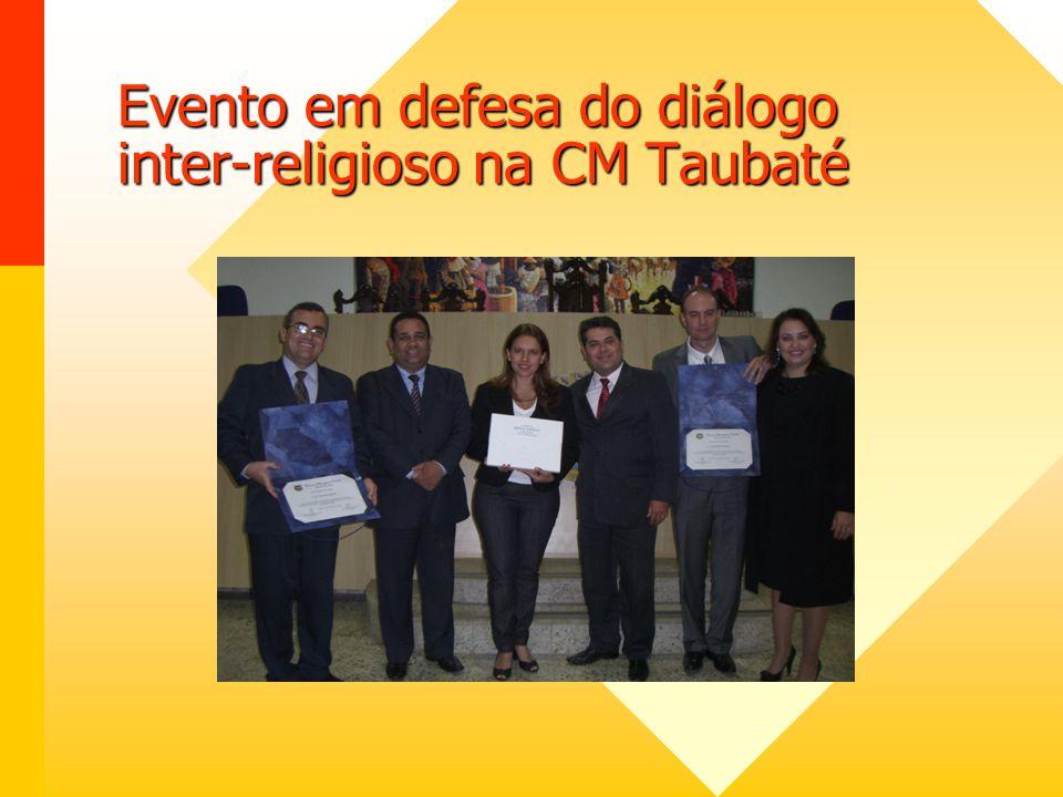 Audiência Pública do Fórum Inter-religioso em Poá