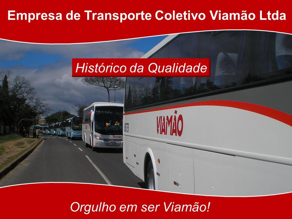 Empresa de Transporte Coletivo Viamão Ltda Orgulho em ser Viamão! Histórico da Qualidade