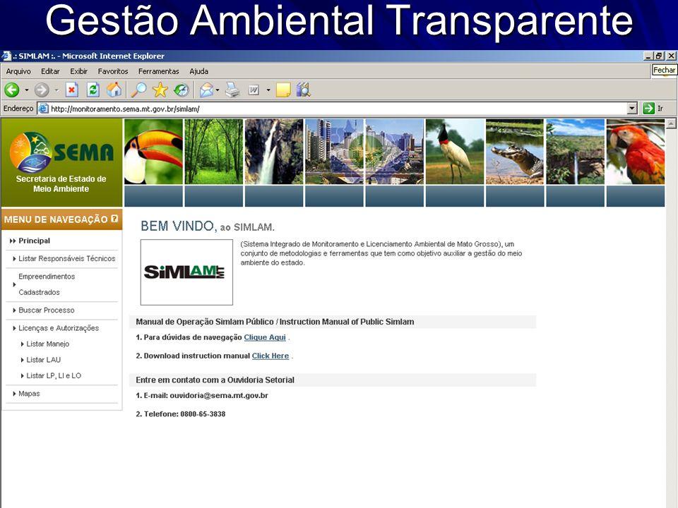 Gestão Ambiental Transparente