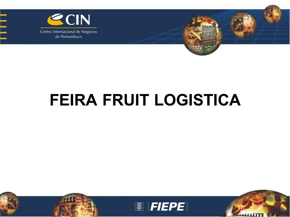 FEIRA FRUIT LOGISTICA