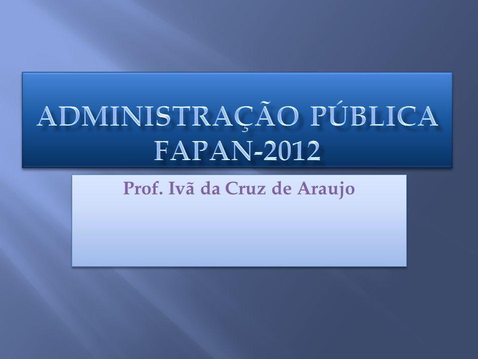 Prof. Ivã da Cruz de Araujo