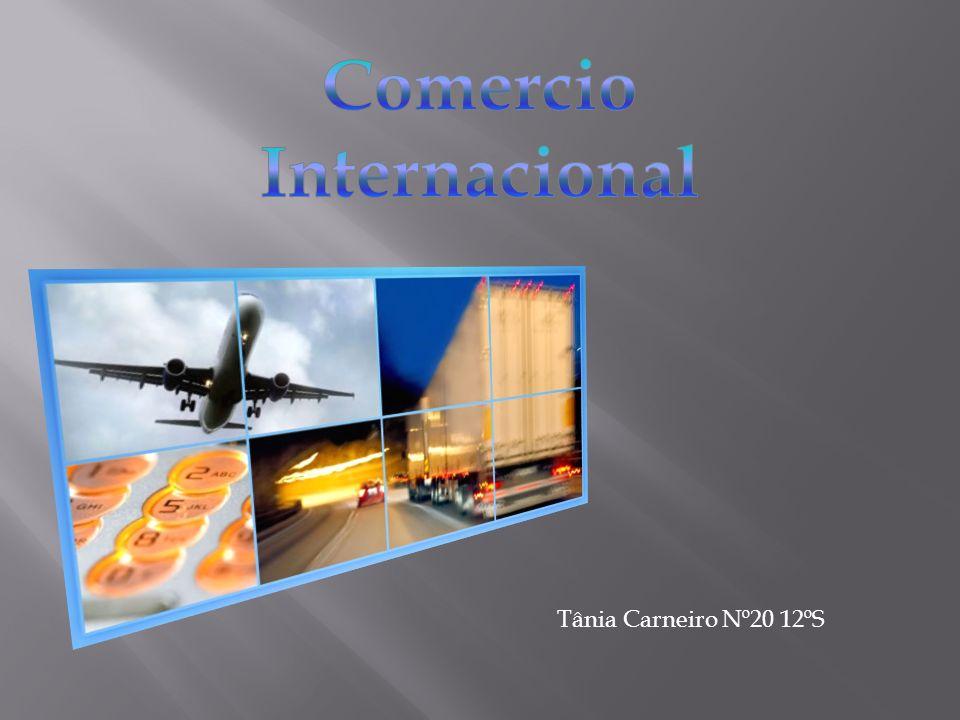 O comércio internacional é a troca de bens e serviços através de fronteiras internacionais ou territórios.
