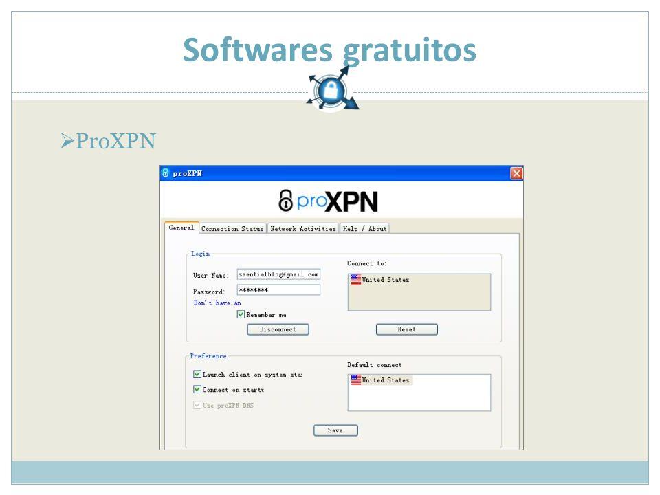 Softwares gratuitos ProXPN