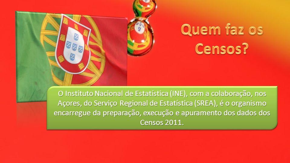 O Instituto Nacional de Estatística (INE), com a colaboração, nos Açores, do Serviço Regional de Estatística (SREA), é o organismo encarregue da prepa