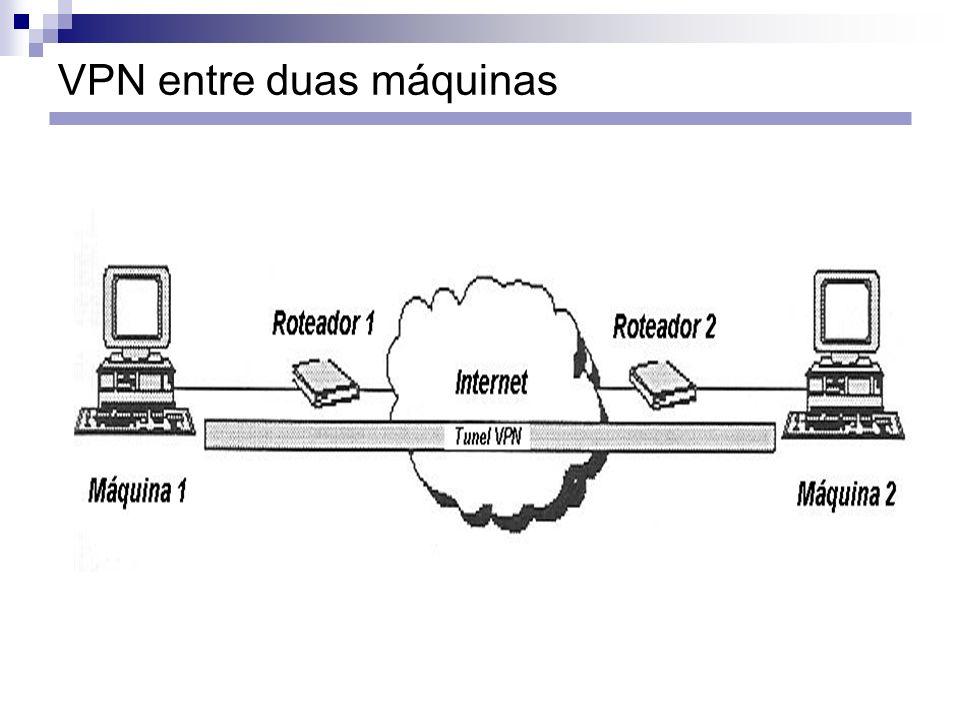 VPN entre duas máquinas