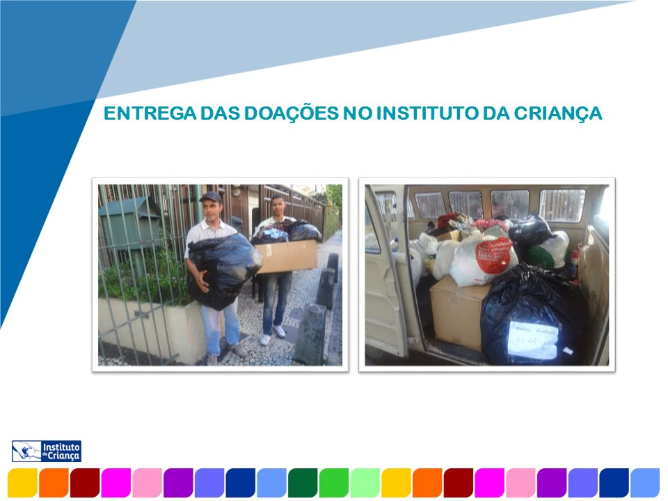 www.company.com ENTREGA DAS DOAÇÕES NA COMUNIDADE DO CUBANGO