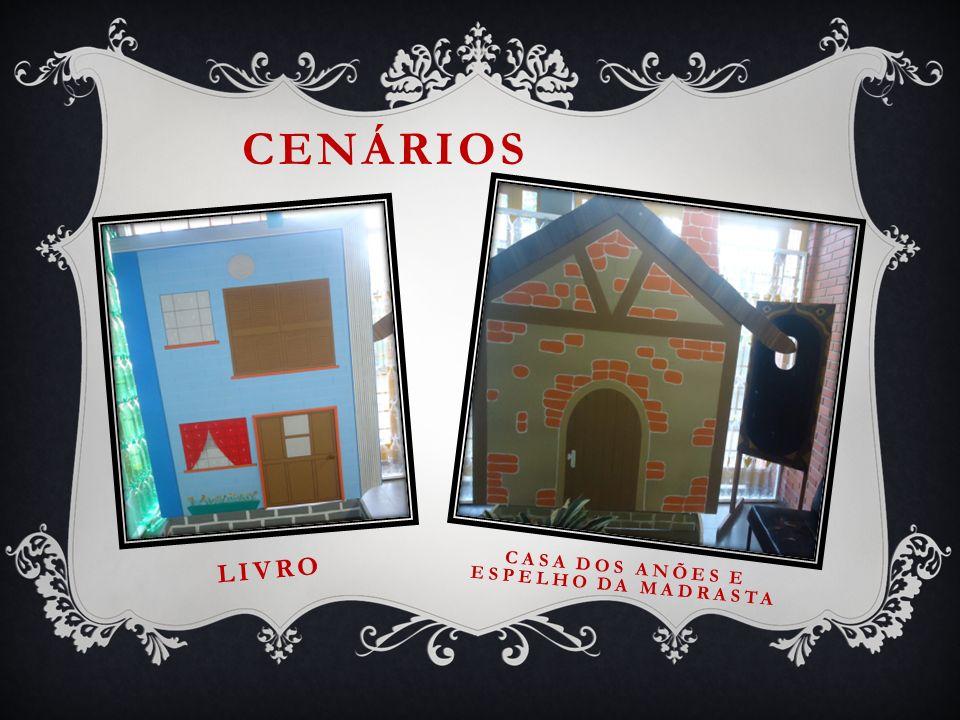 CENÁRIOS LIVRO CASA DOS ANÕES E ESPELHO DA MADRASTA