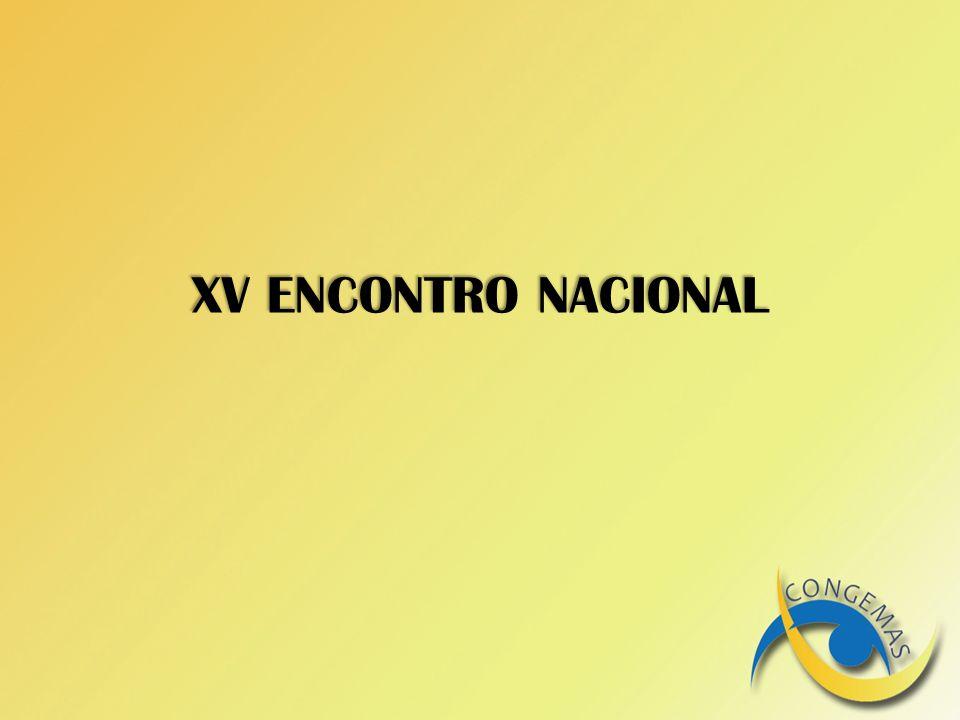XV ENCONTRO NACIONAL