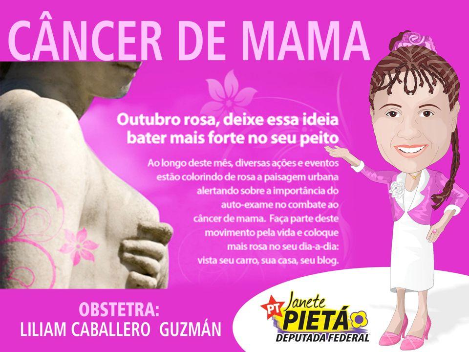 OBSTETRA: LILIAM CABALLERO GUZMÁN CÂNCER DE MAMA