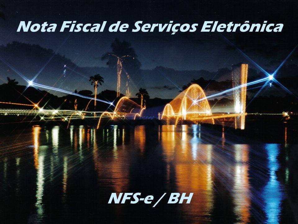 Nota Fiscal de Serviços Eletrônica NFS-e / BH