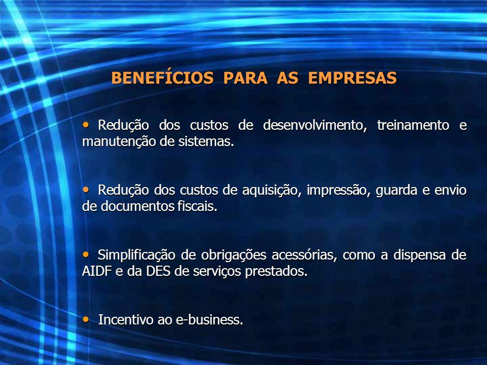 Redução dos custos de desenvolvimento, treinamento e manutenção de sistemas. Redução dos custos de desenvolvimento, treinamento e manutenção de sistem