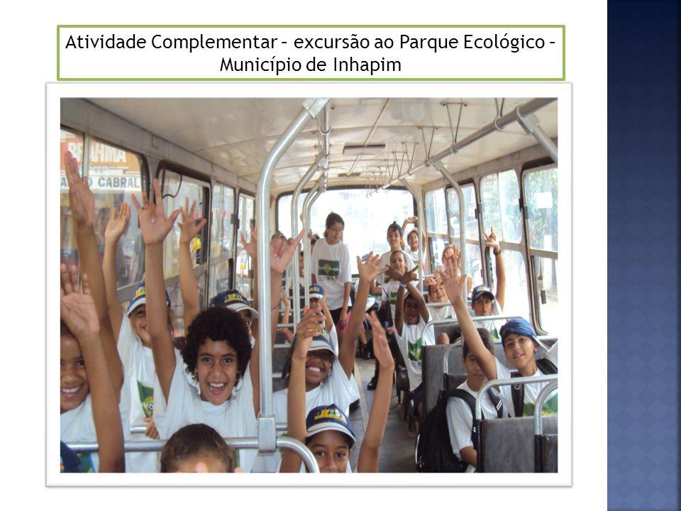 Atividade Complementar – excursão ao Parque Ecológico – Município de Inhapim