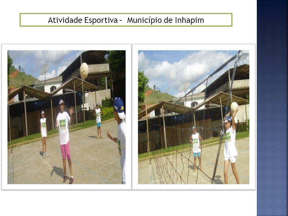 Atividade Esportiva – Município de Inhapim