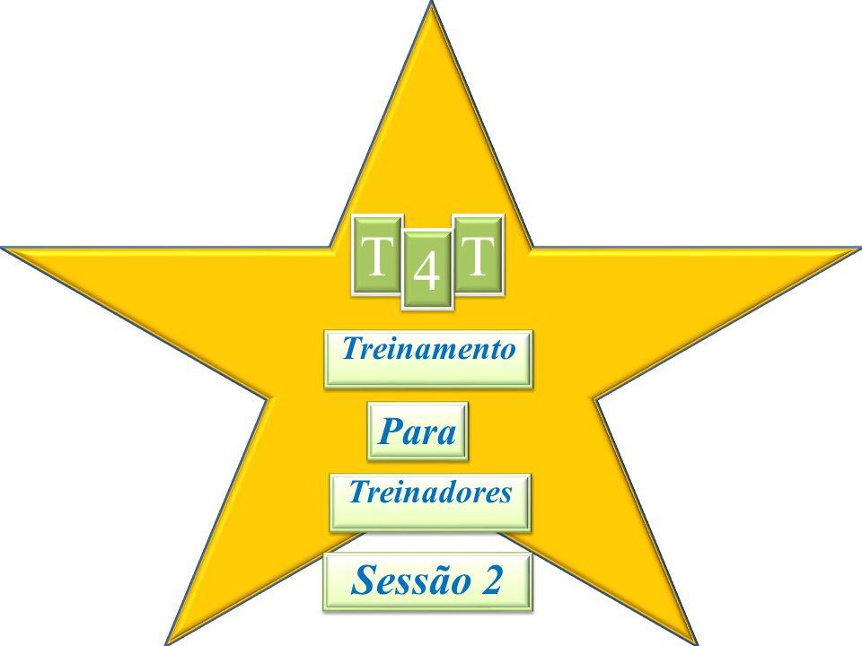 O propósito do T4T é treinar treinadores!