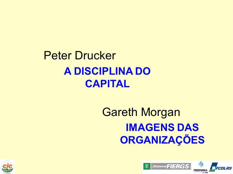 Peter Drucker Gareth Morgan A DISCIPLINA DO CAPITAL IMAGENS DAS ORGANIZAÇÕES