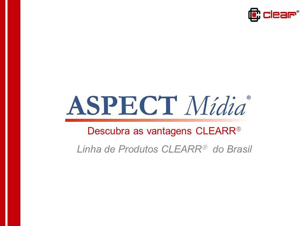 A CLEARR é uma marca registrada, proveniente dos Estados Unidos onde tem como origem e sede a CLEARR Corporation.