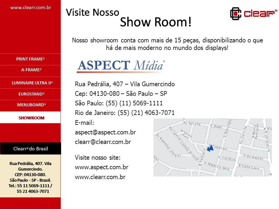 Rua Pedrália, 407 – Vila Gumercindo Cep: 04130-080 – São Paulo – SP São Paulo: (55) (11) 5069-1111 Rio de Janeiro: (55) (21) 4063-7071 E-mail: aspect@