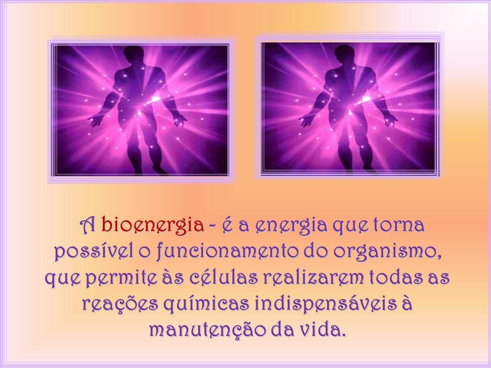 Nosso sistema energético é formado por Bioenergia e Energia Psíquica.