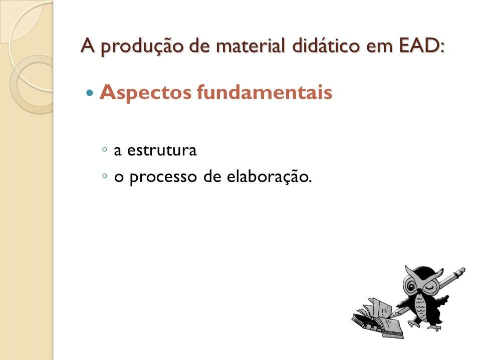 A estrutura Relação carga horária X número de aulas: Ch÷4=x aulas Aula: entre 15 e 20 páginas.