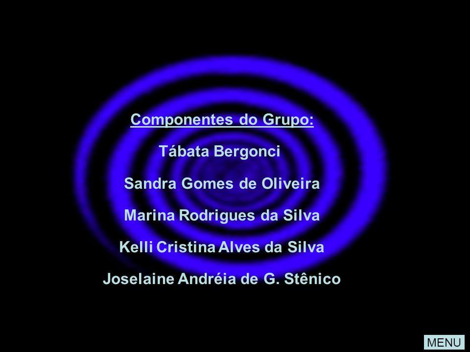 MENU Componentes do Grupo: Tábata Bergonci Sandra Gomes de Oliveira Marina Rodrigues da Silva Kelli Cristina Alves da Silva Joselaine Andréia de G. St