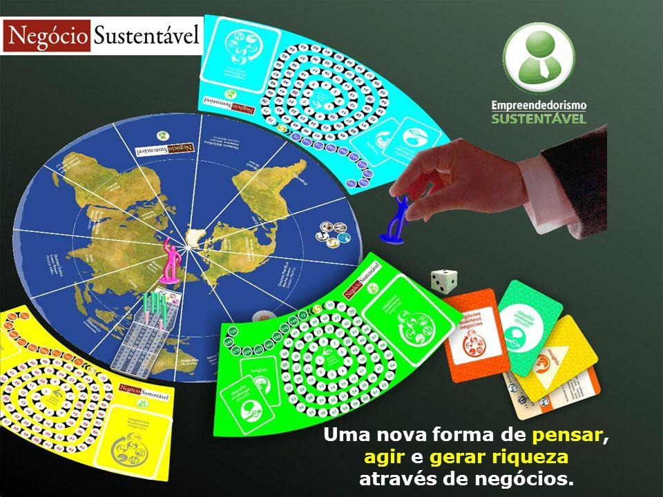 Uma nova forma de pensar, agir e gerar riqueza através de negócios sustentáveis.