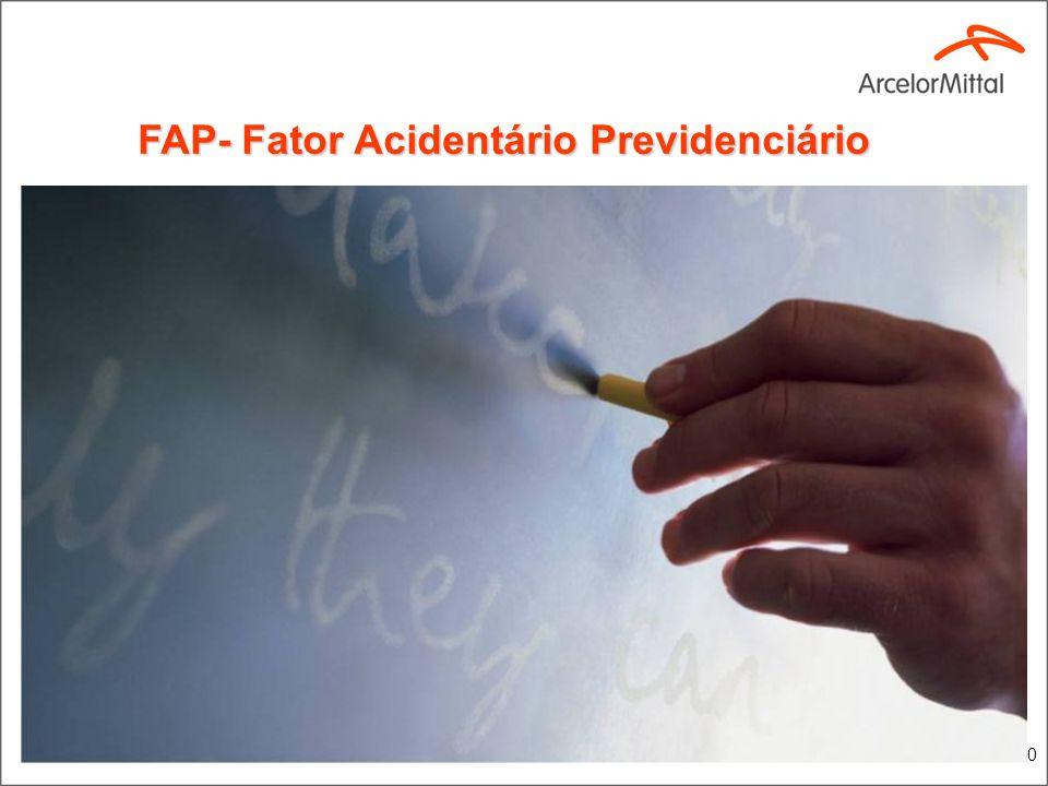 10 FAP- Fator Acidentário Previdenciário