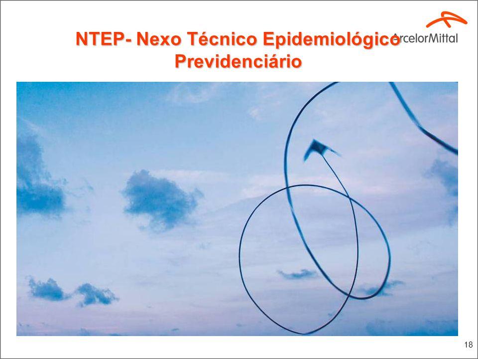 18 NTEP- Nexo Técnico Epidemiológico Previdenciário