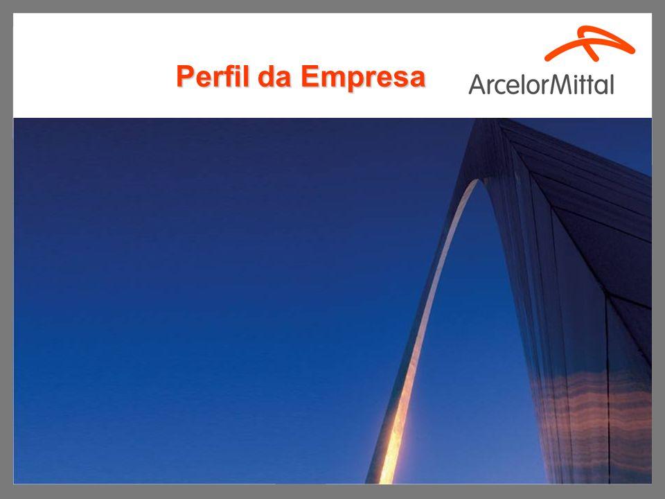 2 Empresa Nº 1 no mundo em produção de aço.