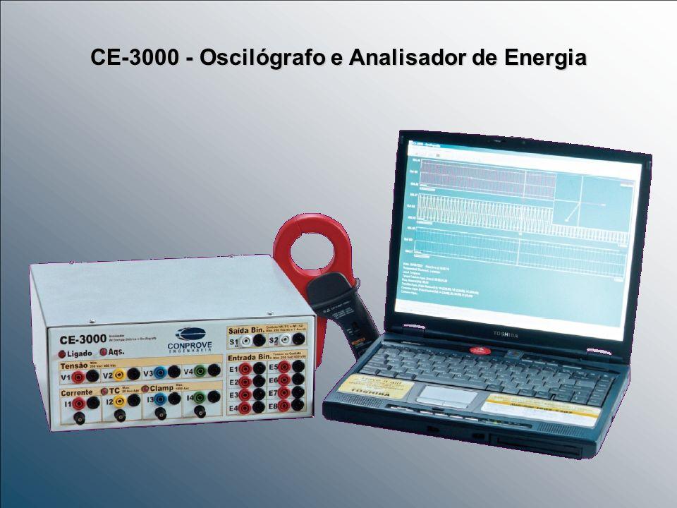 CE-3000 - Oscilógrafo e Analisador de Energia