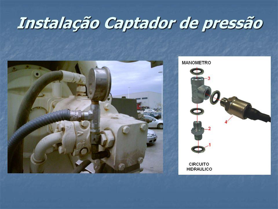 Instalação Captador de pressão