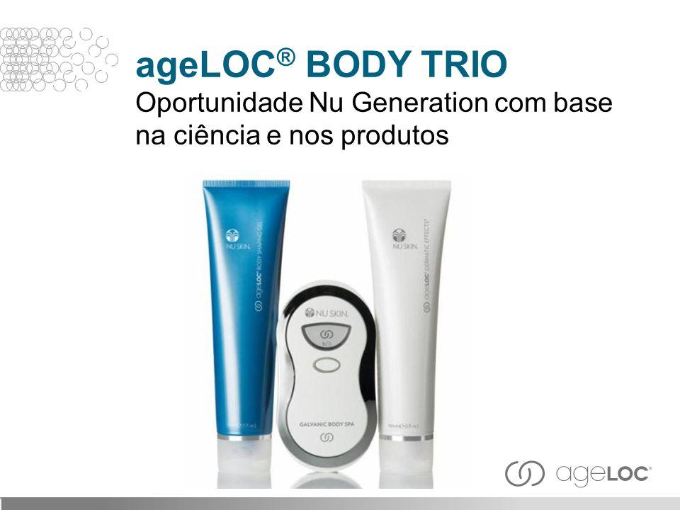A combinação do ageLOC ® com os mais recentes ingredientes corretivos também pode ajudar a reduzir os SINAIS VISÍVEIS de envelhecimento.