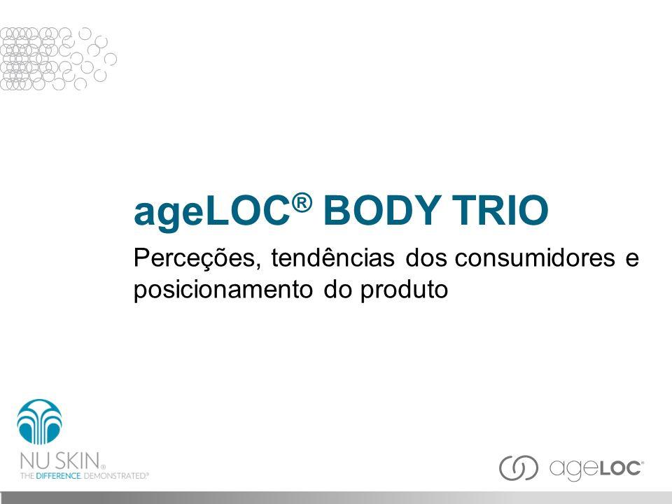 O ageLOC ® Body Trio dá-lhe um aspeto mais adelgaçado, mais suave, mais firme e mais jovem, restaurando os seus contornos e combatendo gordura e celulite, ao mesmo tempo que alisa a pele.