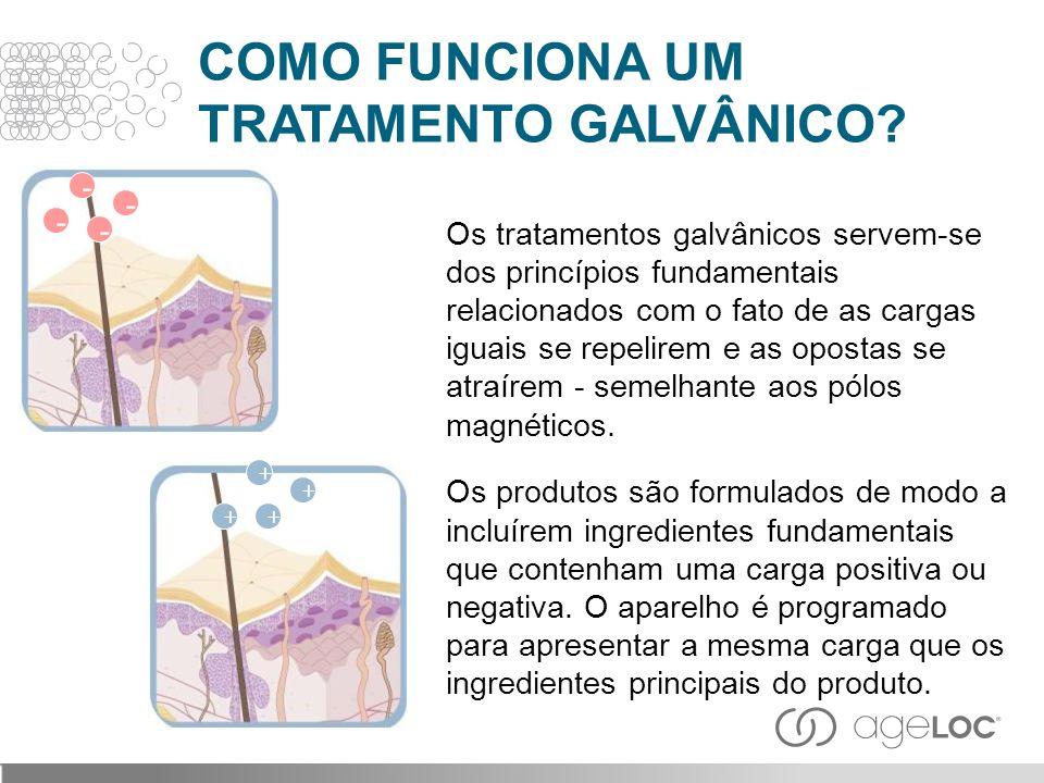Os tratamentos galvânicos servem-se dos princípios fundamentais relacionados com o fato de as cargas iguais se repelirem e as opostas se atraírem - se