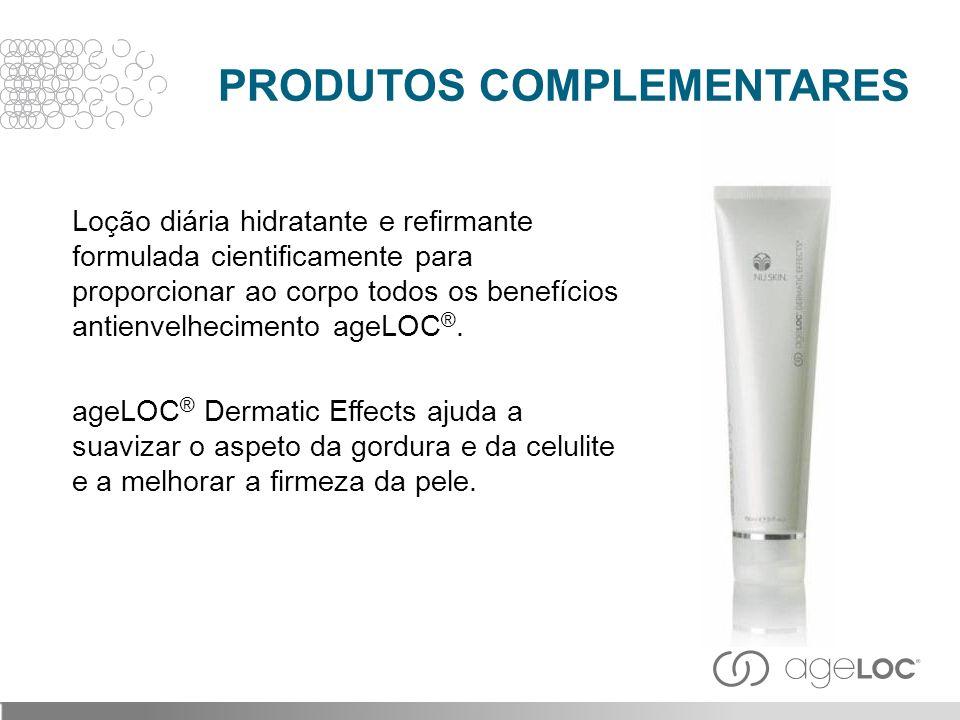 Loção diária hidratante e refirmante formulada cientificamente para proporcionar ao corpo todos os benefícios antienvelhecimento ageLOC ®. ageLOC ® De