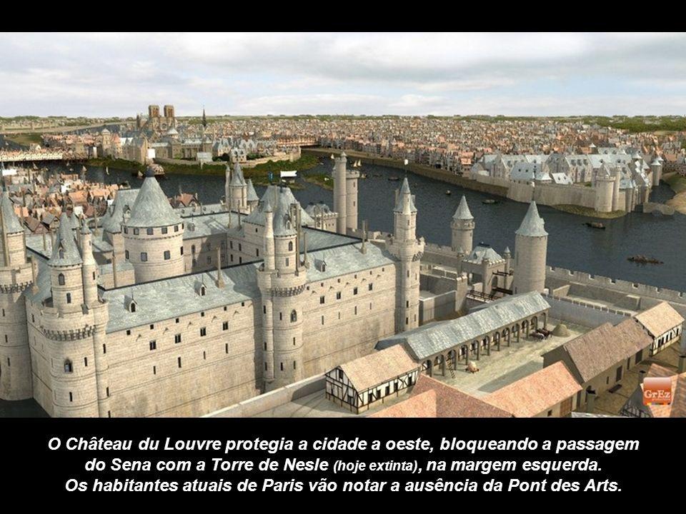 Através da Grez Produções, esta é a vista de Notre-Dame a partir da Rue Neuve.