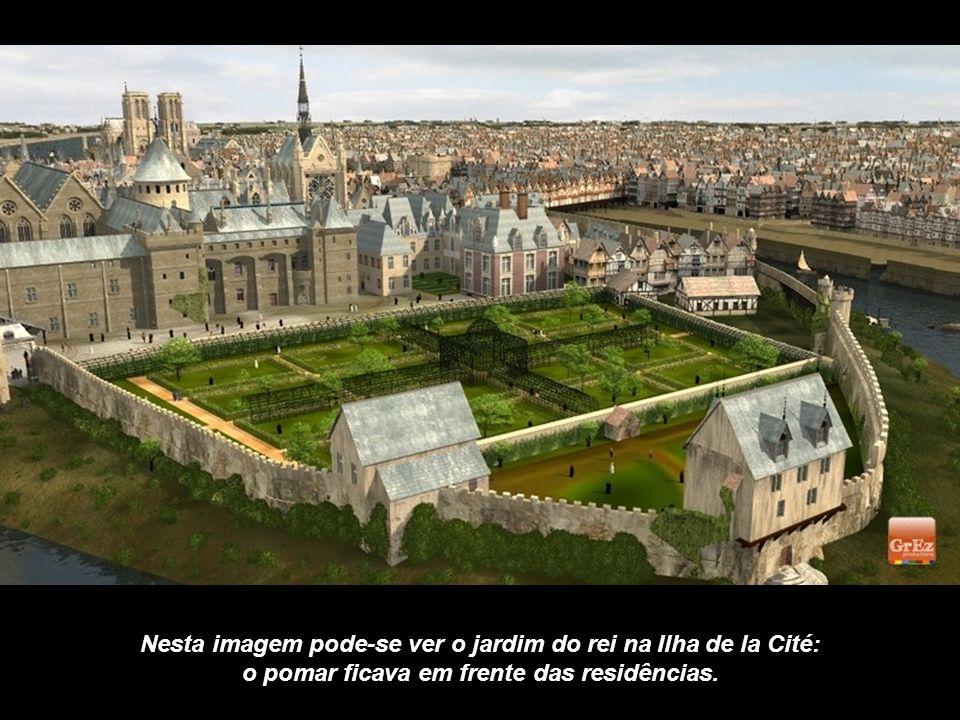 Em 1550, a Place da Greve que agora é a Praça do Hôtel de Ville, foi um importante porto comercial. Mas também era o lugar de festas... e de execuções
