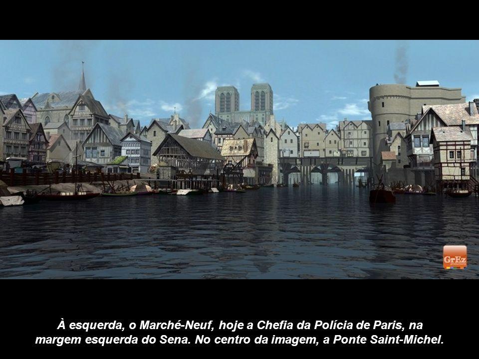 Na Idade Média, o Hôtel Dieu tinha 500 leitos para acolher pacientes, embora sem qualquer privacidade pois eram colocados até 4 pacientes em cada cama