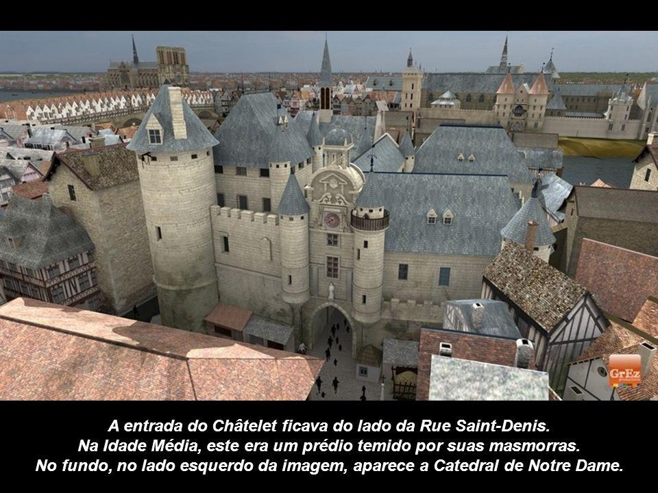 A Grez produções, especializada em reconstituições históricas através de computação gráfica, nos propõe aqui uma vista da Bastilha, com a Ponte Saint-