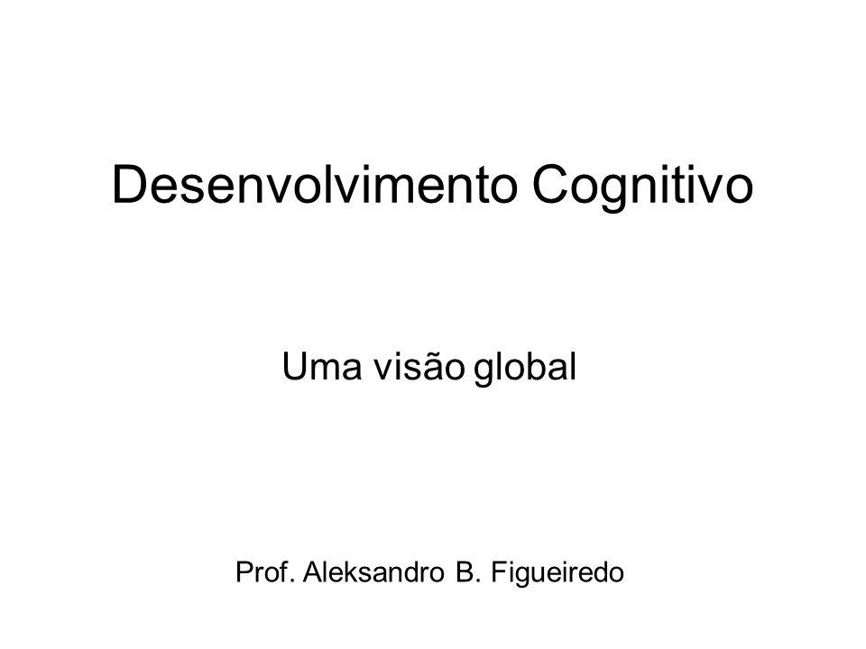 Desenvolvimento Cognitivo Uma visão global Prof. Aleksandro B. Figueiredo