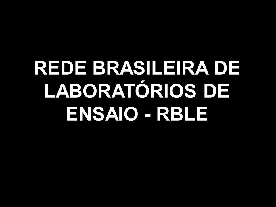 REDE BRASILEIRA DE LABORATÓRIOS DE ENSAIO - RBLE