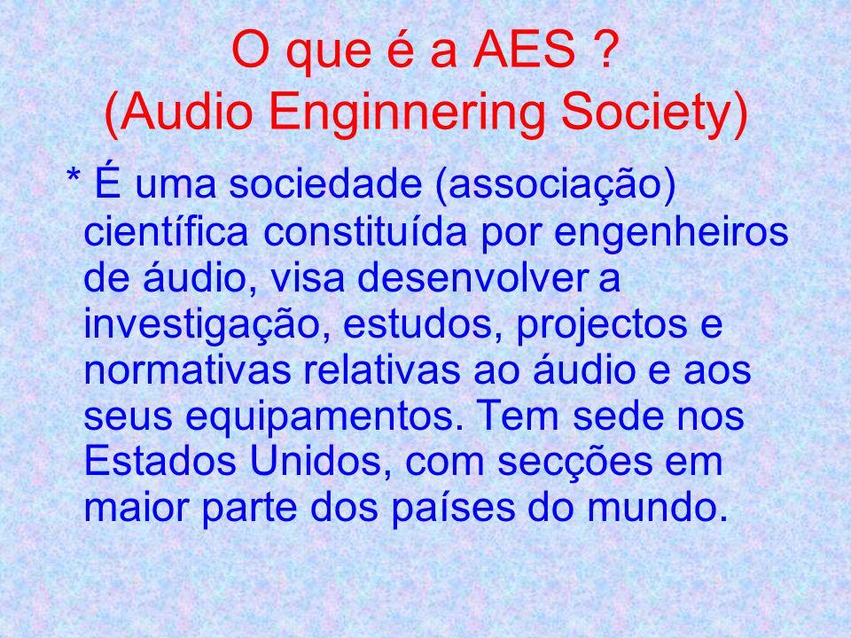 *PROTOCOLOS: * Foi estabelecido um protocolo entre a A.T.S.P. e a APEA – Associação Portuguesa de Engenharia de Áudio ( Secção Portuguesa da AES – Aud