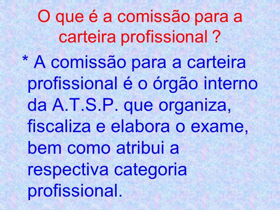 * A AES através da APEA em Portugal, faz parte da comissão para a carteira profissional que é atribuída pela A.T.S.P. aos seus associados; a carteira
