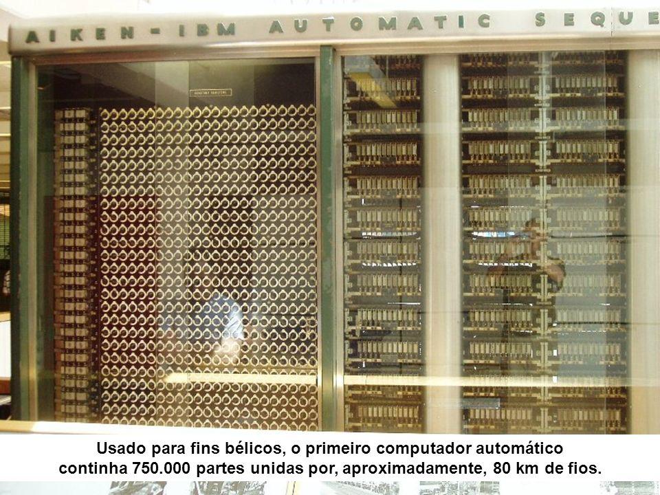 1946 - ENIAC Em 1948, Claude Shannon, desenvolveu uma teoria baseada em numeração binária e introduziu o conceito de Bit – Binary digit.