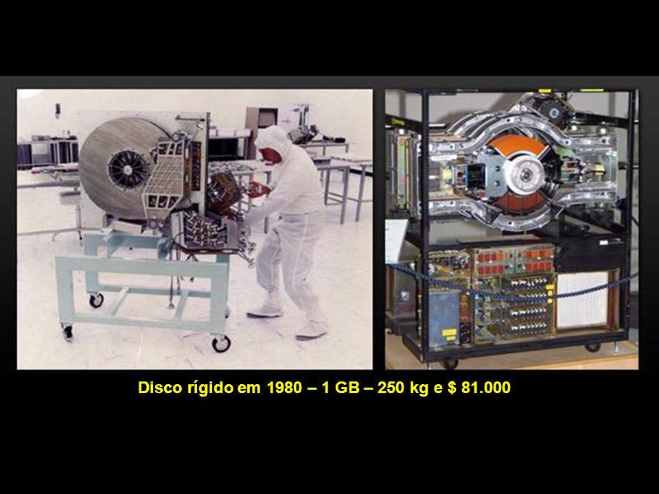 1981 Em Janeiro de 1983, a ARPANET mudou seu protocolo de NCP para TCP/IP e, em 1985 surge o FTP.
