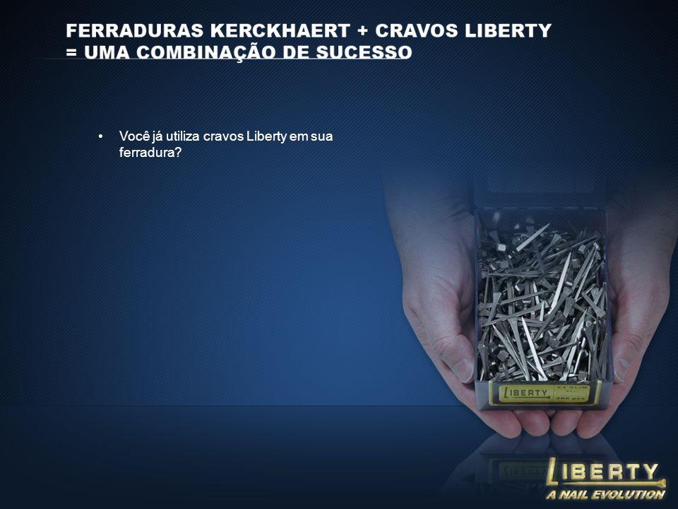 Você já utiliza cravos Liberty em sua ferradura?
