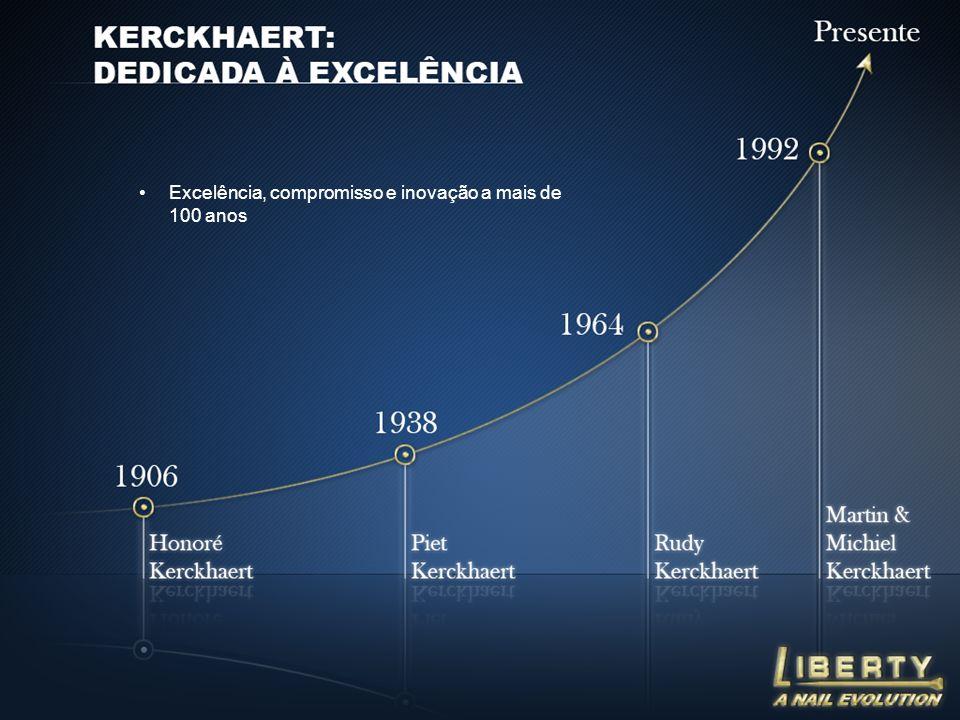 Excelência, compromisso e inovação a mais de 100 anos