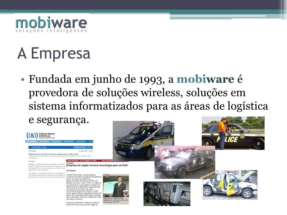 A Empresa Fundada em junho de 1993, a mobiware é provedora de soluções wireless, soluções em sistema informatizados para as áreas de logística e segur